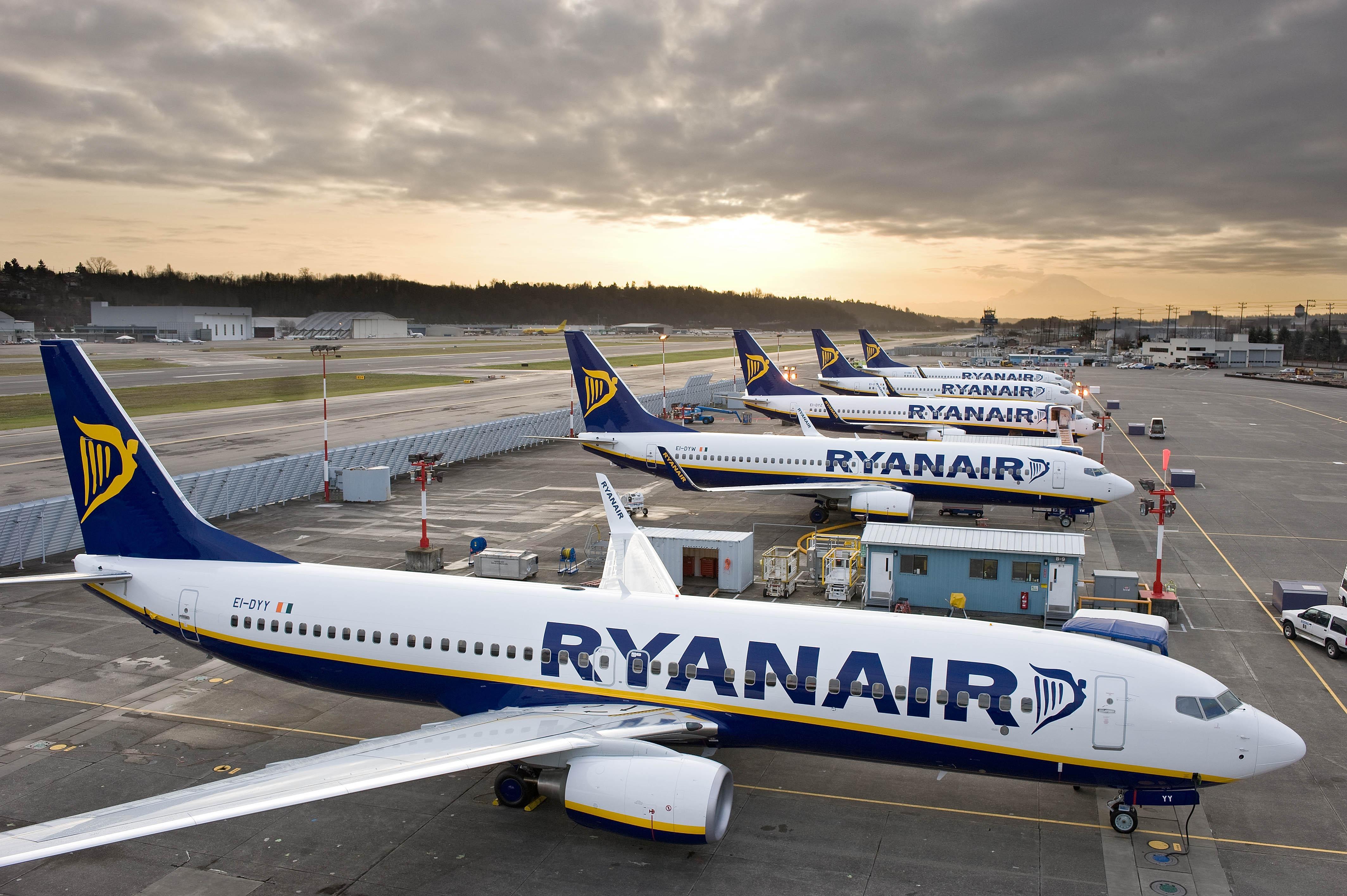 Ryanair Flugzeug Deutschland